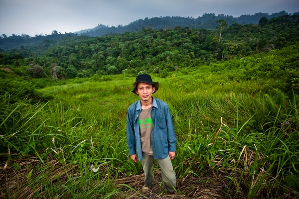 Rudi Putra Goldman Prize forest conservation Indonesia